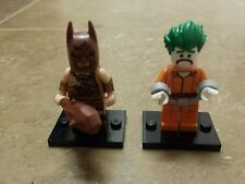 LEGO Batman Movie Minifigure Series Caveman Batman and Arkham Asylum Joker 71017