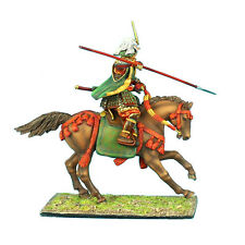 First Legion: SAM023 Mounted Samurai Charging with Yari and Jinbaori Takeda Clan