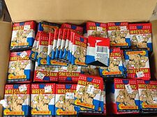 UNOPENED 40 PACK LOT 1987 TOPPS WRESTLING CARDS STICKER  HULK HOGAN WRAPPER WWF