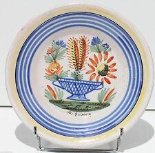 PIATTO IN CERAMICA - HR QUIMPER - XIX secolo - COPPA CACTUS - 23 cm