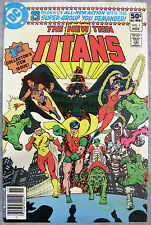 New Teen Titans #1 NEWSSTAND VARIANT! 1980 Robin, Raven, Cyborg EXCELLENT Copy!