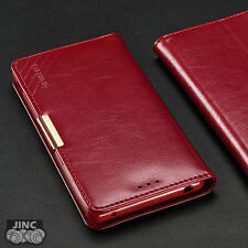 Genuine Leather Book Case Cover Pouch for SONY Xperia Z3+/Plus/DUAL/Z4 E6533