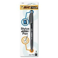Lightweight Bic Tech 2 In 1 Retractable Ball Pen And Stylus