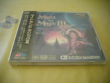 MIGHT & MAGIC III 3 SEGA MEGA CD JAPAN IMPORT RPG NEW FACTORY SEALED!