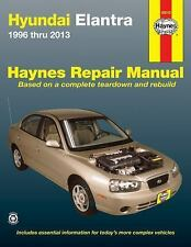 Haynes Repair Manual~Hyundai Elantra 1996 thru 2013~BRAND NEW!