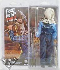 """JASON VOORHEES Friday the 13th Part 2 Retro Style 8"""" inch Scale Figure Neca 2014"""