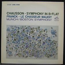 CHARLES MUNCH chausson & franck LP Mint- LSC 2647 Living Stereo Red Seal Vinyl