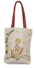 BELGIAN TAPESTRY SHOPPING TOTE BAG 38CM X 34CM, PETIT PRINCE PLANETE