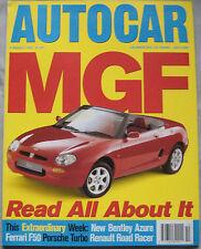 AUTOCAR 8/3/1995 featuring Ferrari F50, 355, Bentley Azure, Porsche 911 Turbo
