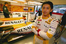Ho-Pin Tung Hand Signed 12x8 Photo F1 Renault 1.