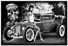 Hot Rod Car Vintage Art Silk Wall Posters 24x36 inch 43