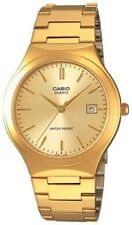 Casio Men's Gold Steel Band Watch MTP1170N-9A
