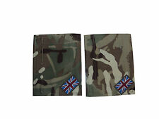 BRITISH ARMY MTP BLANKING PATCHES WITH UNION JACKS - PAIR - BRAND NEW