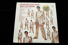 Elvis Presley 50,000 ELVIS FANS CAN'T BE WRONG LP - SEALED MINT 1987 RCA