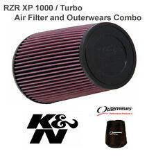 Polaris RZR XP1000 K&N Performance Clamp Air Filter and Outerwears XP 1000