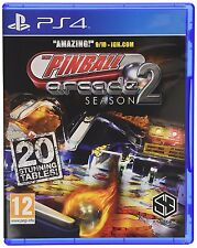Pinball Arcade Season 2 [PS4 Playstation 4 20 Stunning Tables Amazing 10/10] NEW