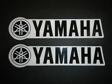 Two Yamaha Universal Tank Swingarm Fork Stickers Decals Banshee Blaster Warrior