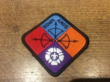 Vintage Cloth Patch Scout Badge Scouting Memorabilia Bown Anos