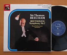 SXLP 30286 Beethoven Symphony no. 7 Sir Thomas Beecham HMV Stereo NM/EX