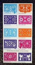 2016USA   Forever - Colorful Celebrations - Block of 10 From Booklet  Mint