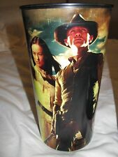 *NEW* COWBOYS & ALIENS Super Big Gulp Cup - Daniel Craig, Olivia Wilde - HTF