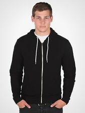 NEW American Apparel Zip Hoodie Flex Fleece F497 Hooded Sweatshirt 25 Colors!