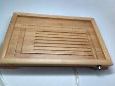 Gongfu tea tray (Bamboo) Medium  Size Flat Board With Clear Pipe On Sale