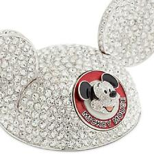 "DISNEY PARKS ""MICKEY MOUSE CLUB MOUSEKETEER EAR HAT"" ARRIBAS - SWAROVSKI® LE"