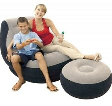 College Dorm Room Accessories Furniture Inflatable Chair Ottoman Video Game Play