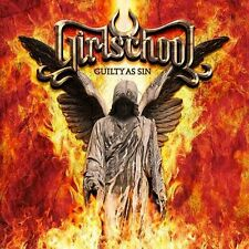 GIRLSCHOOL - GUILTY AS SIN - CD SIGILLATO DIGIPACK 2015