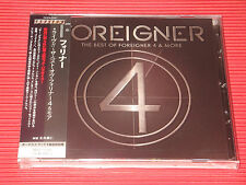 FOREIGNER Live The Best Of FOREIGNER 4 & More JAPAN CD with Bonus Track