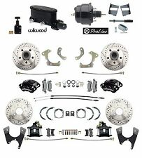 1958-68 Fullsize Chevy Front Rear Wilwood Disc Brake Kit Booster Conversion Kit