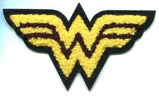 WONDER WOMAN chenille logo EMBROIDERED IRON-ON PATCH dc comics **FREE SHIPPING**