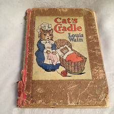 Louis Wain / May Byron - Cat's Cradle - 1st Ed 1908 - Blackie and Son