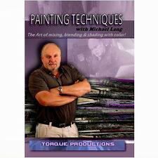 Art Instruction DVD '' Painting Techniques'' Michael Lang How To  Demonstration