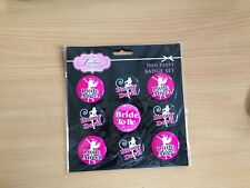 Hen Night Party Badge Set Bride To Be Angels Devils
