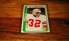 1978 Football Trading card #400 O.J. OJ SIMPSON San Francisco 49ers NINERS Sport