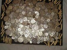 16 oz 1 LB 90% US MIXED COINS HALF DOLLARS QUARTERS DIMES JUNK SILVER ~BULLION