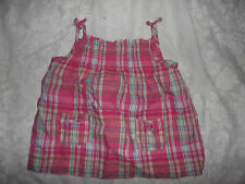 """""""SPROUT"""" GIRLS PINK CHECK STRAP TOP ** SIZE 2"""
