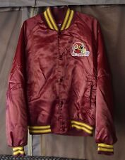 Rare Vintage 90s NFL Washington Redskins Chalkline Satin Jacket XL Starter