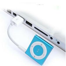USB Extension Charger Data Sync 3.5mm Audio Cable Cord for iPod Shuffle 1st/2nd