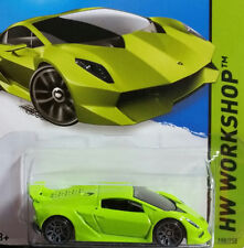 2015 - Hot Wheels - LAMBORGHINI SESTO ELEMENTO - HW Workshop - Card #198