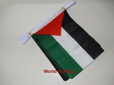 PALESTINE BUNTING Palestinian Flag 9m 30 Polyester Party Flags Middle East