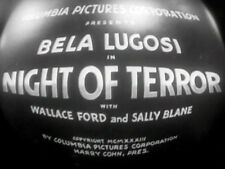 NIGHT OF TERROR (DVD) - 1933 - Bela Lugosi,Wallace Ford