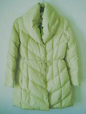 New COCOON N/Y Puffer Down Coat with Shawl collar Jacket Beautiful Mint Green XS