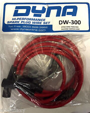 Dynatek Dyna Spark Plug Wires Set Red Silicone 7mm Copper Core DW300 DW-300