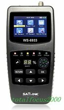 Satlink WS 6933 HD DVB-S2 Digital Satellite Signal Finder A