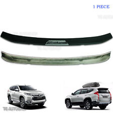 Fit Mitsubishi Pajero Sport Suv 4x4 Rear Tailgate Bumper Guards Cover 2016 2017