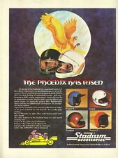 Stadium Accessories Phoenix Helmet 1978 Magazine Advert #3049