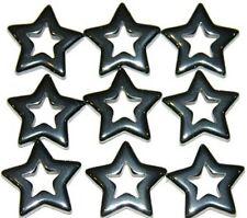 10 hematite pendants Lot wholesale stone healing star